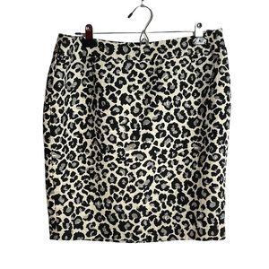 Halogen Nordstrom animal print pencil skirt